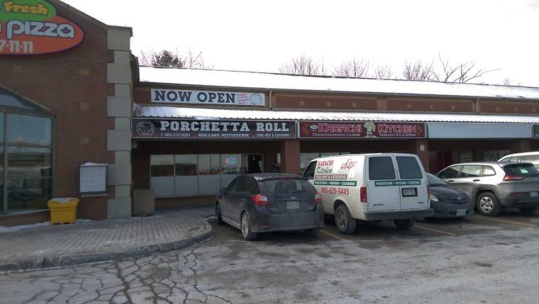 Porchetta Roll in Mississauga, Ontario