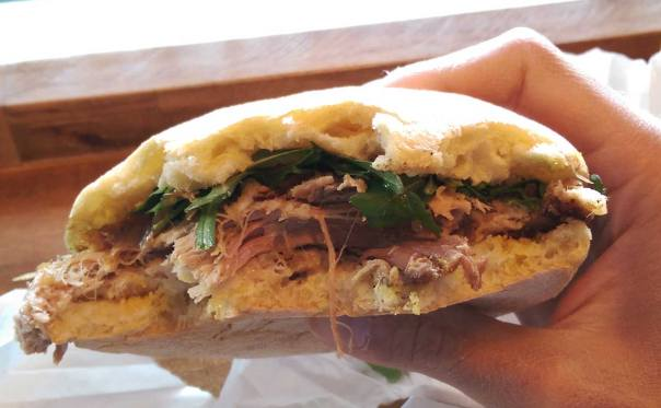 Porchetta Roll in Mississauga, Ontario