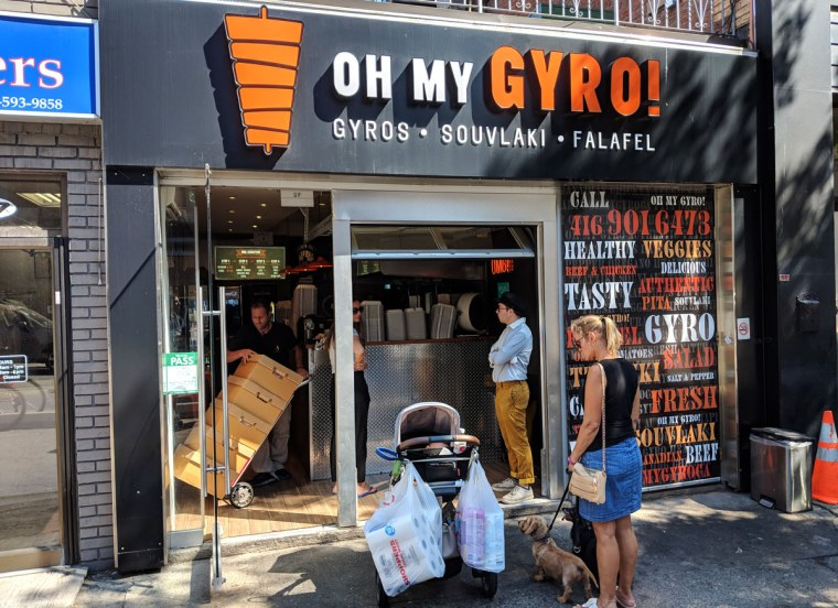 Oh My Gyro!