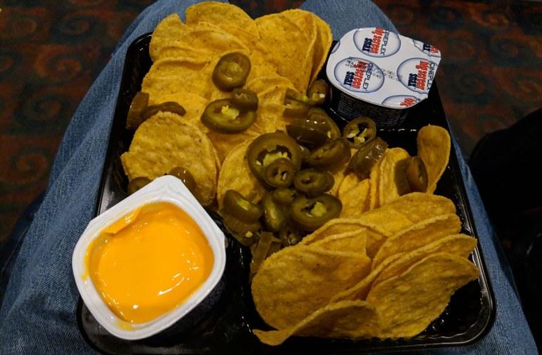 Cineplex nachos