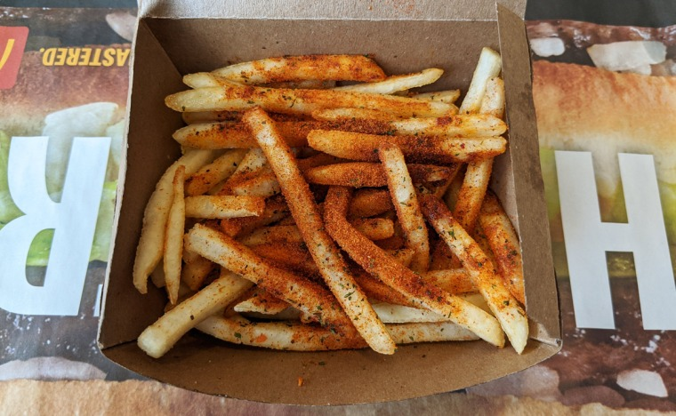 Spicy Chipotle Seasoned Fries at McDonald's