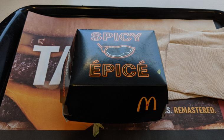 Spicy Habanero McChicken