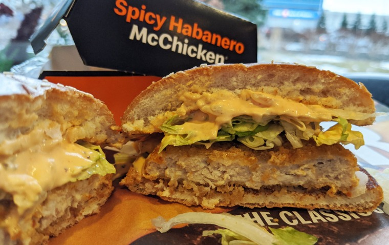 Spicy Habanero McChicken
