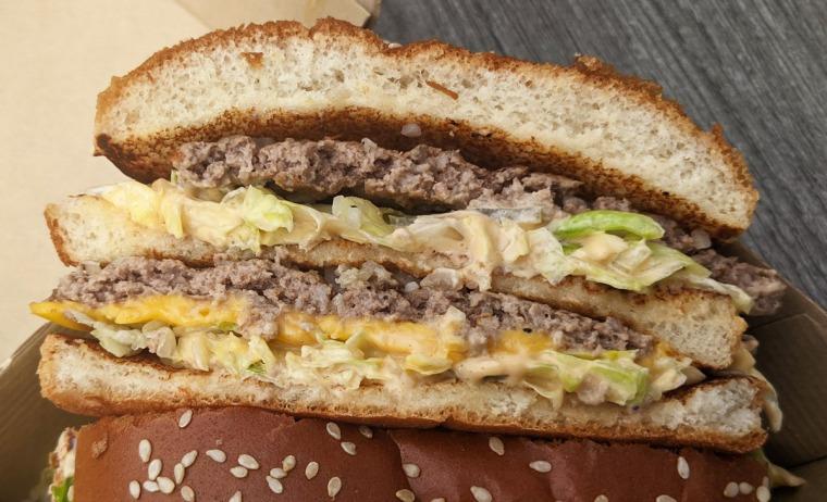 The Grand Big Mac at McDonald's